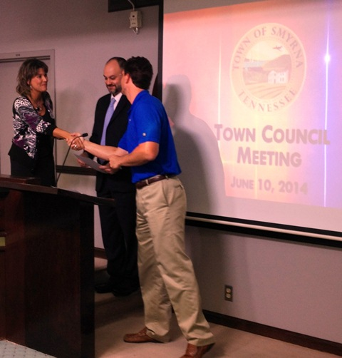 Town of Smyrna Proclamation Recognizes Men's Health Week